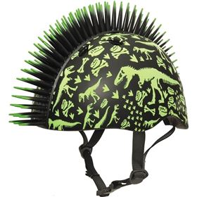 Raskullz T-Rex Bonez Mohawk Toddler Bicycle Helmet
