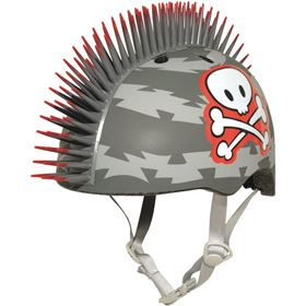 Raskullz Lil Pirate Mohawk Infant Bicycle Helmet