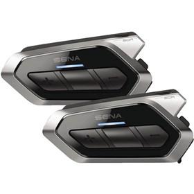Sena 50R Low Profile Bluetooth Communication System With Mesh Intercom Dual Pack