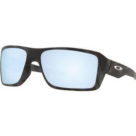 Oakley Double Edge Camo Prizm Deep Water Polarized Sunglasses