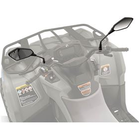 Can-Am Handle Bar Mirrors For ATVs