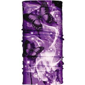 Hair Glove Purple Butterflies Light Weight EZ Tube