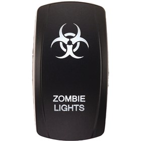 XTC Power Products Zombie Lights Rocker Switch Face Plate