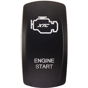 XTC Power Products Engine Start Rocker Switch Face Plate