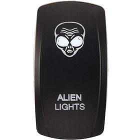 XTC Power Products Alien Lights Rocker Switch Face Plate