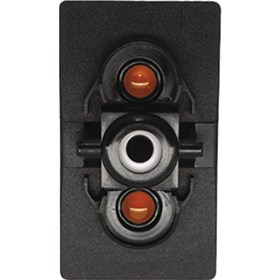 XTC Power Products Single Accessory Switch Body With L.E.D. Backlight