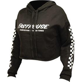 Fasthouse Logo Crop Women's Pullover Hoody