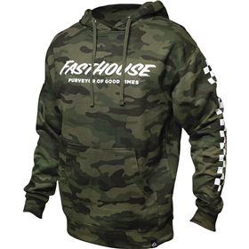 Fasthouse Logo Camo Pullover Hoody