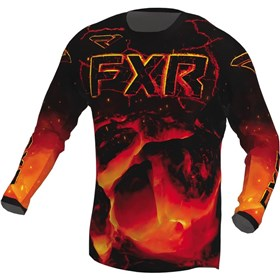 FXR Racing Podium Magma Youth Jersey