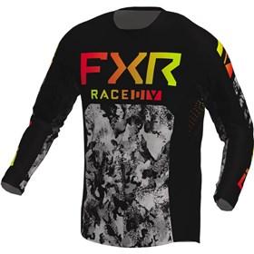 FXR Racing Podium Acid Inferno Youth Jersey