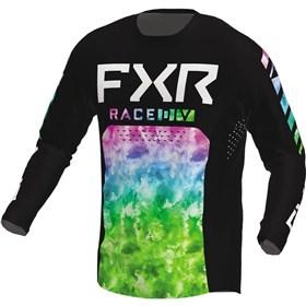 FXR Racing Podium Acid Rain Youth Jersey