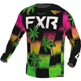 FXR Racing Podium Tropic Youth Jersey