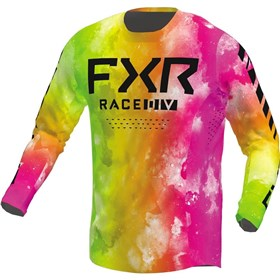 FXR Racing Podium Acid Sherbert Youth Jersey