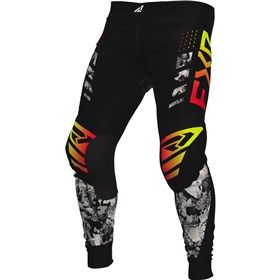 FXR Racing Podium Acid Inferno Youth Pants