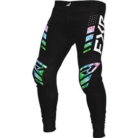 FXR Racing Podium Acid Rain Youth Pants
