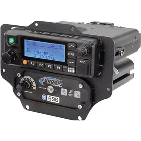 Rugged Radios RDM and Intercom Mount For Can-Am X3