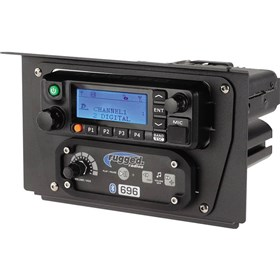Rugged Radios RM60/RM50/RM45 Radio and Intercom Mount For Polaris RZR XP100