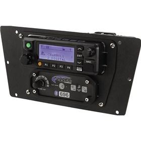 Rugged Radios RDM Radio and Intercom Mount For Yamaha YXZ