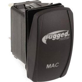 Rugged Radios Waterproof Rocker Switch For MAC Helmet Air Pumper