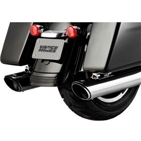 Vance And Hines Twin Slash Round Slip-On Exhaust System