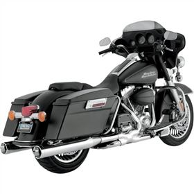 Vance And Hines Monster Round Slip-On Exhaust System