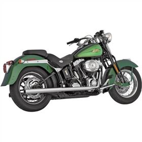Vance And Hines Softail Duals Head Pipes