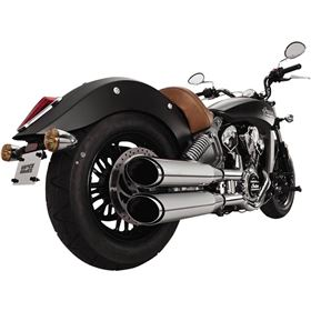Vance And Hines Twin Slash Slip-On Exhaust System For Indian Scout