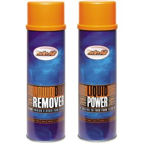 Twin Air Liquid Dirt Remover And Oil Spray Kit