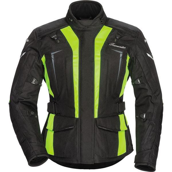 Tour Master Transition Series 5 Hi-Viz Women's Textile Jacket