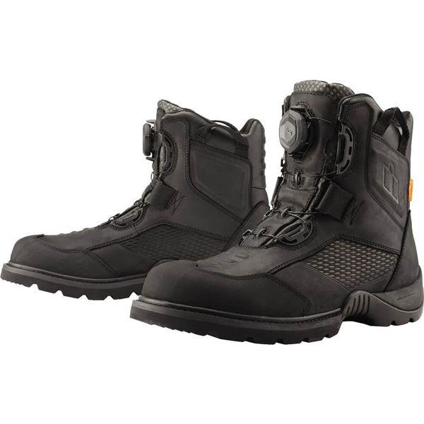 Icon Stormhawk Waterproof Boots