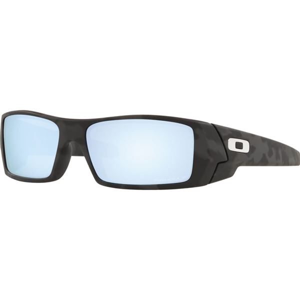 Oakley Gascan Camo Deep Water Polarized Sunglasses