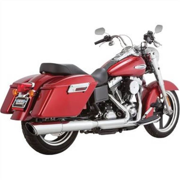 Vance And Hines Switchback Twin Slash 2-Into-1 Slip-On Exhaust System