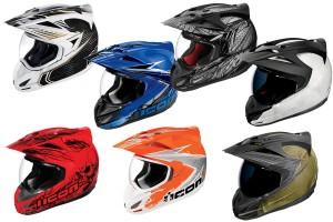 Icon Variant Dual Sport Helmets - Lineup