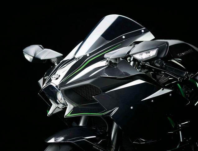 Kawasaki H2 front fairing