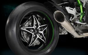Kawasaki H2R Exhaust