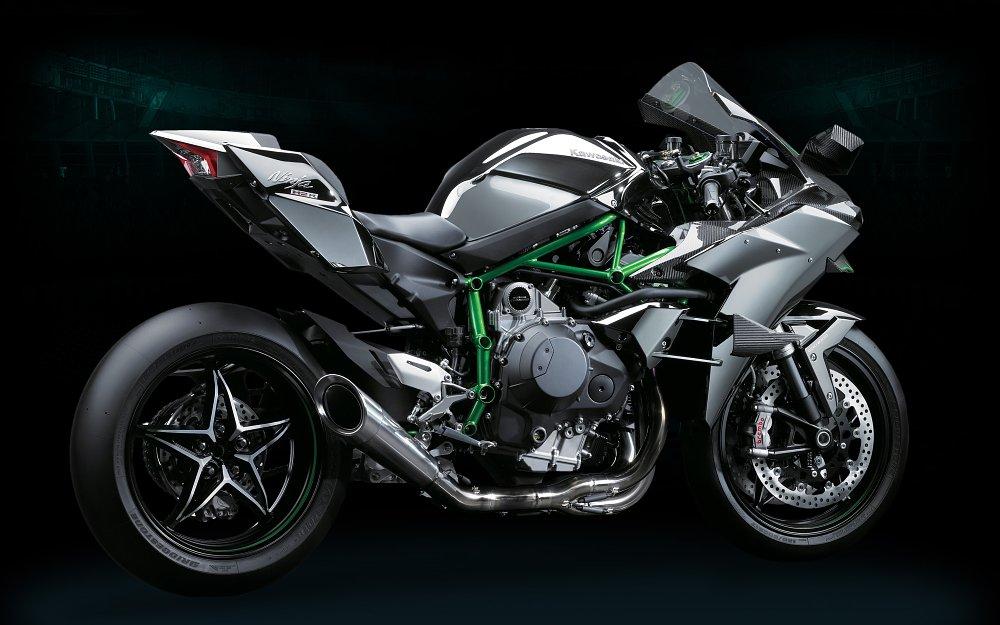Kawasaki H2R right side