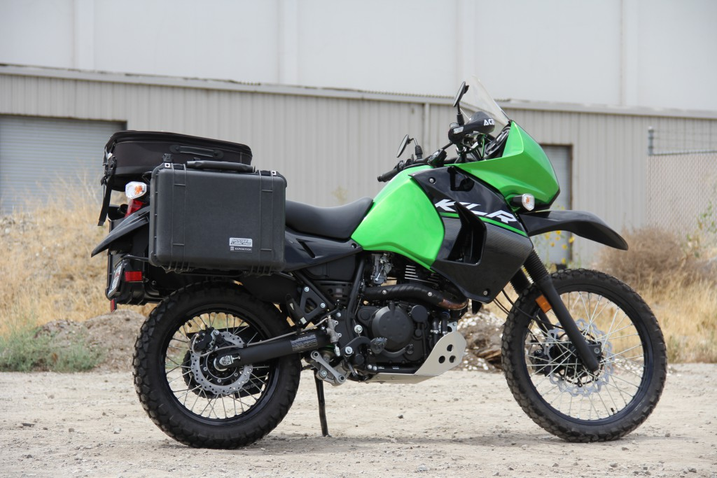 Kawasaki KLR650 Ready for a Long Haul