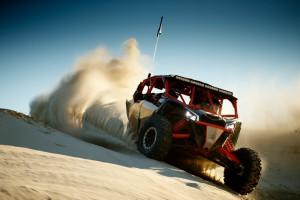 Maverick X3 MAX X rs - Gold _ Can-Am Red - Dunes 1 copy