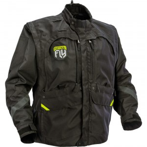 Fly Racing Patrol Jacket Can be converted into a variety of configurations to provide all day comfort and performance. Durable nylon construction with ballistic nylon reinforcement panels.