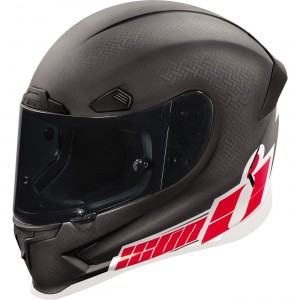 Icon Airframe Pro Flash Bang Full Face Helmet Hand crafted composite shell. Four unique shell sizes for minimized mass and drag. Sculpted neck roll reduces jacket and suit interference.