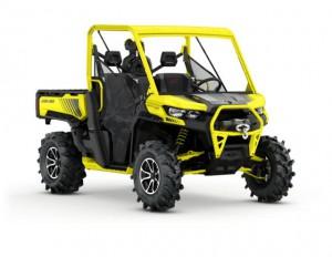 2018 Defender X mr HD10 Carbon Black and Sunburst Yellow_3-4 front_jpg