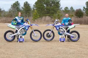 mattison and barrett with bikes static